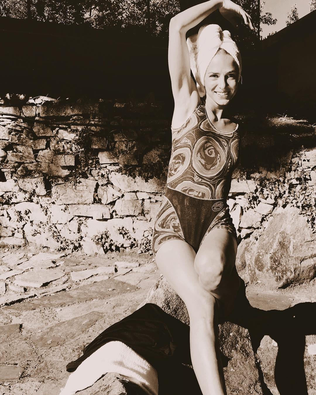 Maria Leite in Bikini