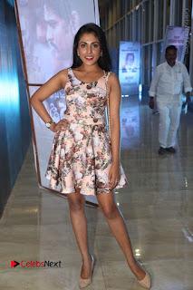 Actress Madhu Shalini Stills in Floral Short Dress at RGV Shiva to Vangaveeti Event  0165.JPG