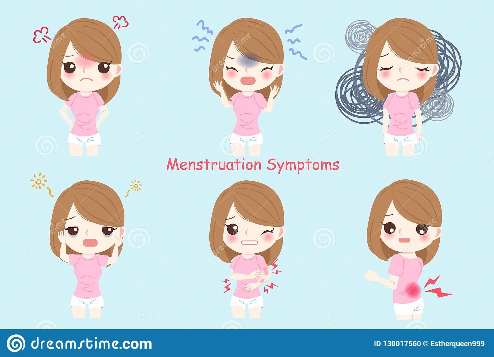 Gambar Kartun Wanita Pms Girl Talk Mengenal Premenstrual Syndrom Pms Jendela Eva