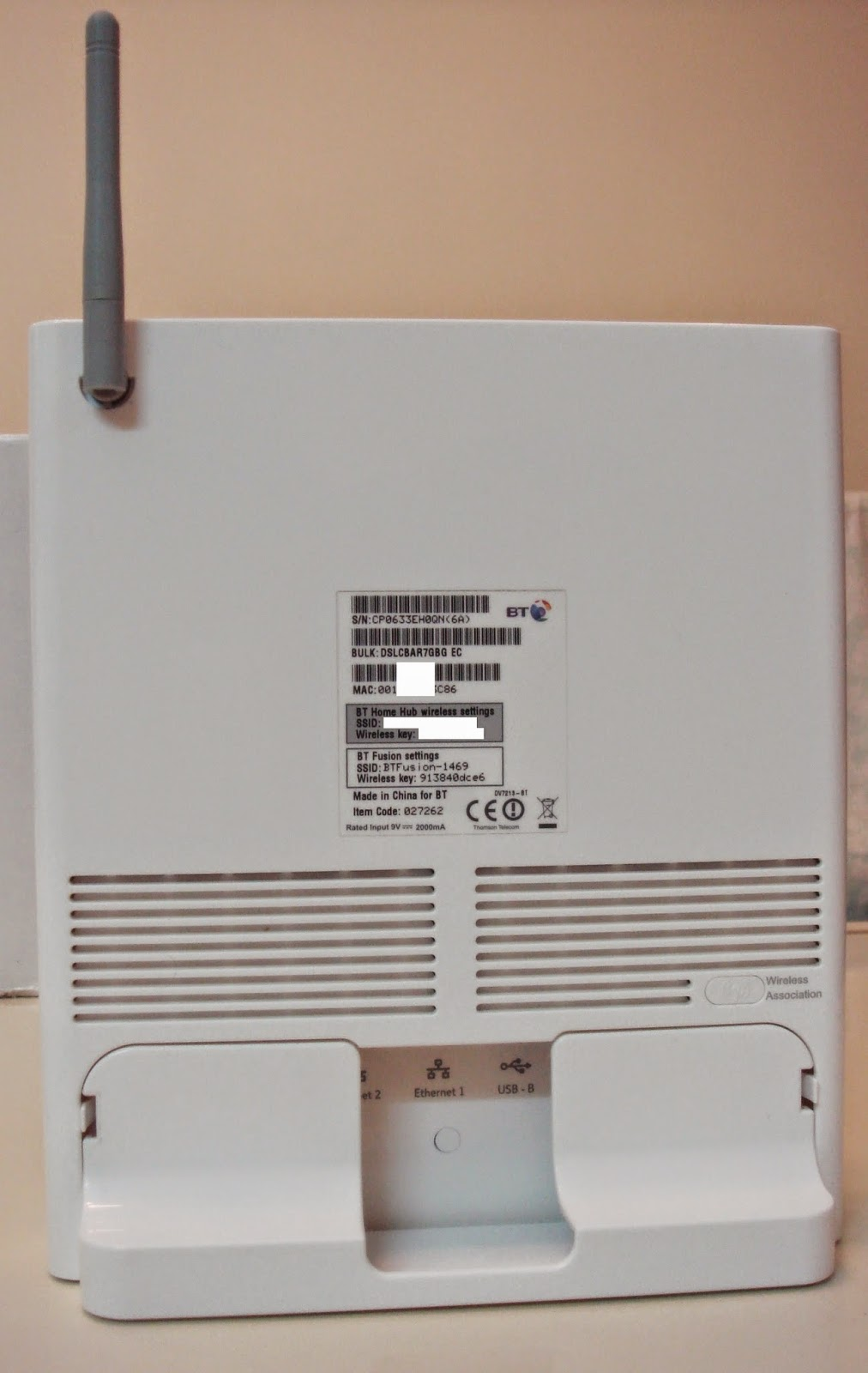 BT Home Hub v1 and v1 5 1/2: Info, Unlock & Configuration