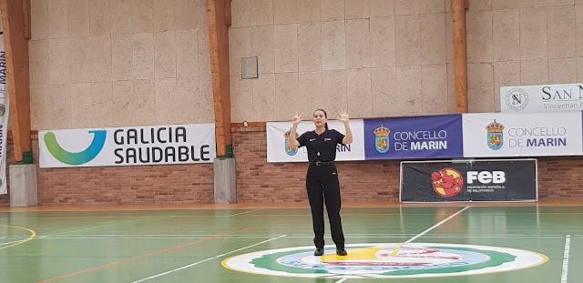 ENTREVISTA: Maríangeles García Crespo, árbitro EBA y LF2