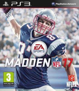 Capa Madden NFL 17 PS3 2016 site jogo sem vírus Playstation3