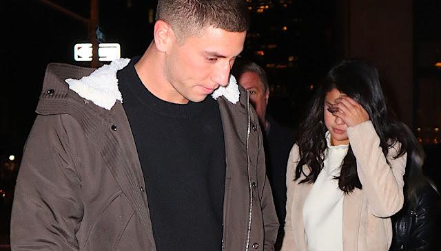 Selena Gomez and Samuel Krost at Nobu NYC