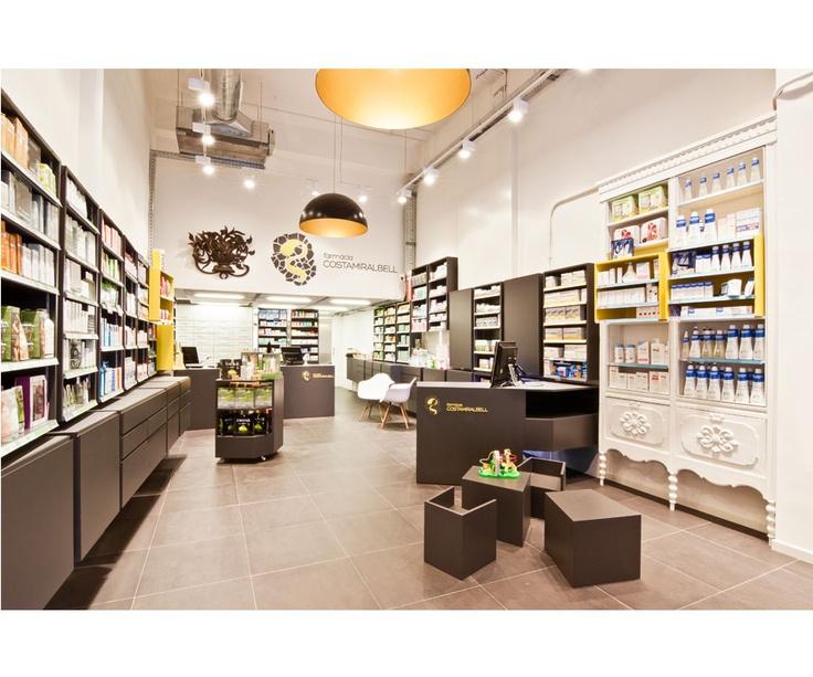 10 farmacias de dise o interiorismo que cura ministry for Habitat store muebles