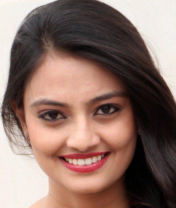 Beautiful Telugu Actress Nikitha Narayan Face Close Up Photos