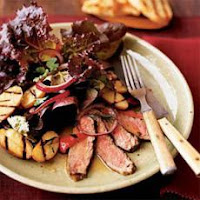 Seared Black Peppercorn Steaks with Horseradish – Potato Salad | Healthy Beef Steaks Recipes