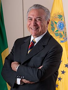 Presidente Michel Temer toma posse em Brasília