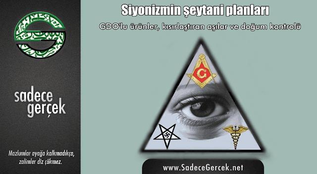 Siyonizm'in şeytani planları