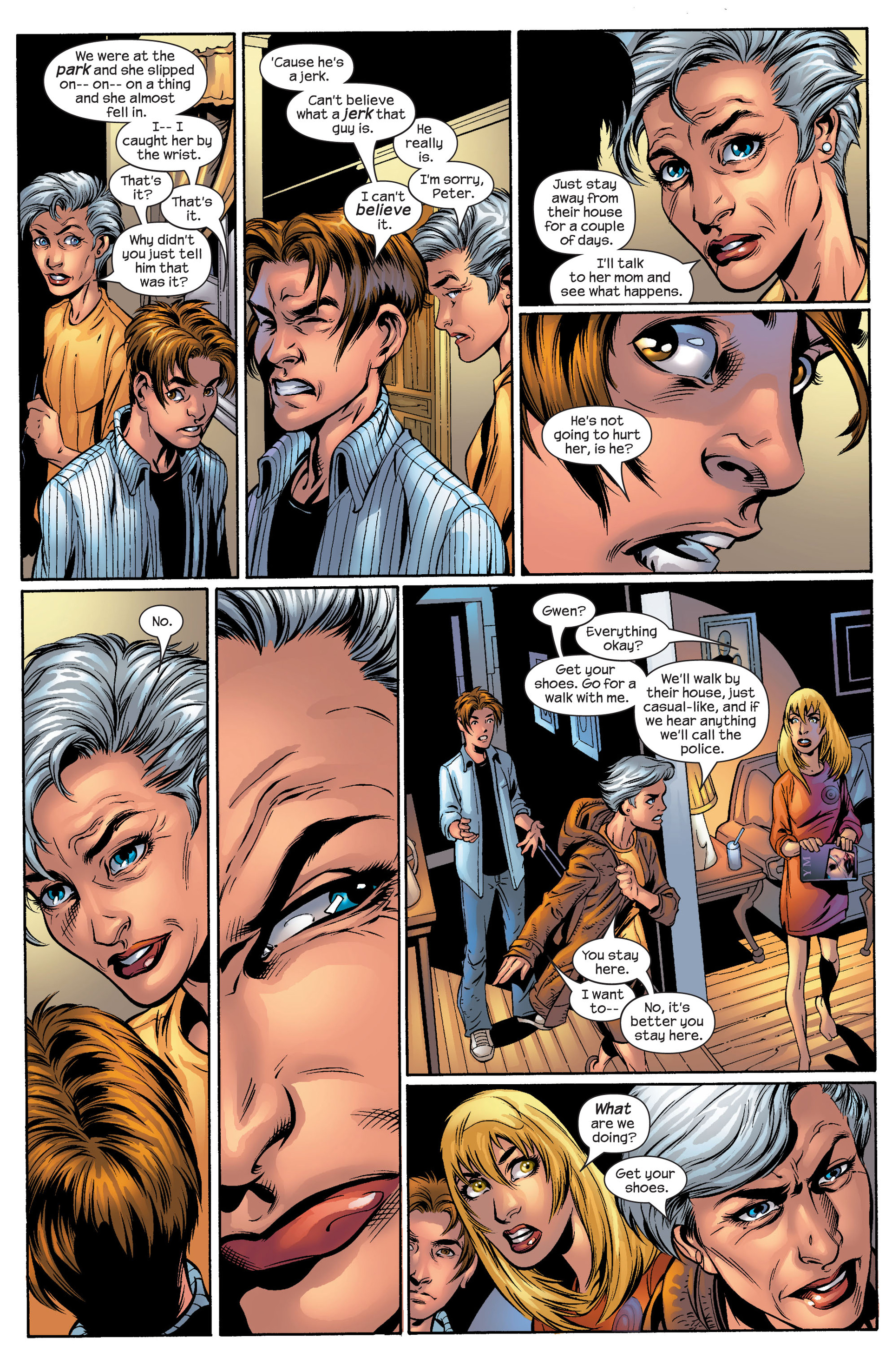 Read online Ultimate Spider-Man (2000) comic -  Issue #50 - 33