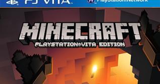 Minecraft PSVita Edition Psvita Vpk 2017 + Update and DLC