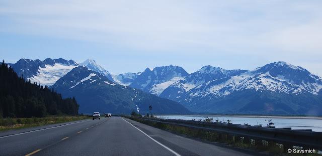 Scenic Seward road