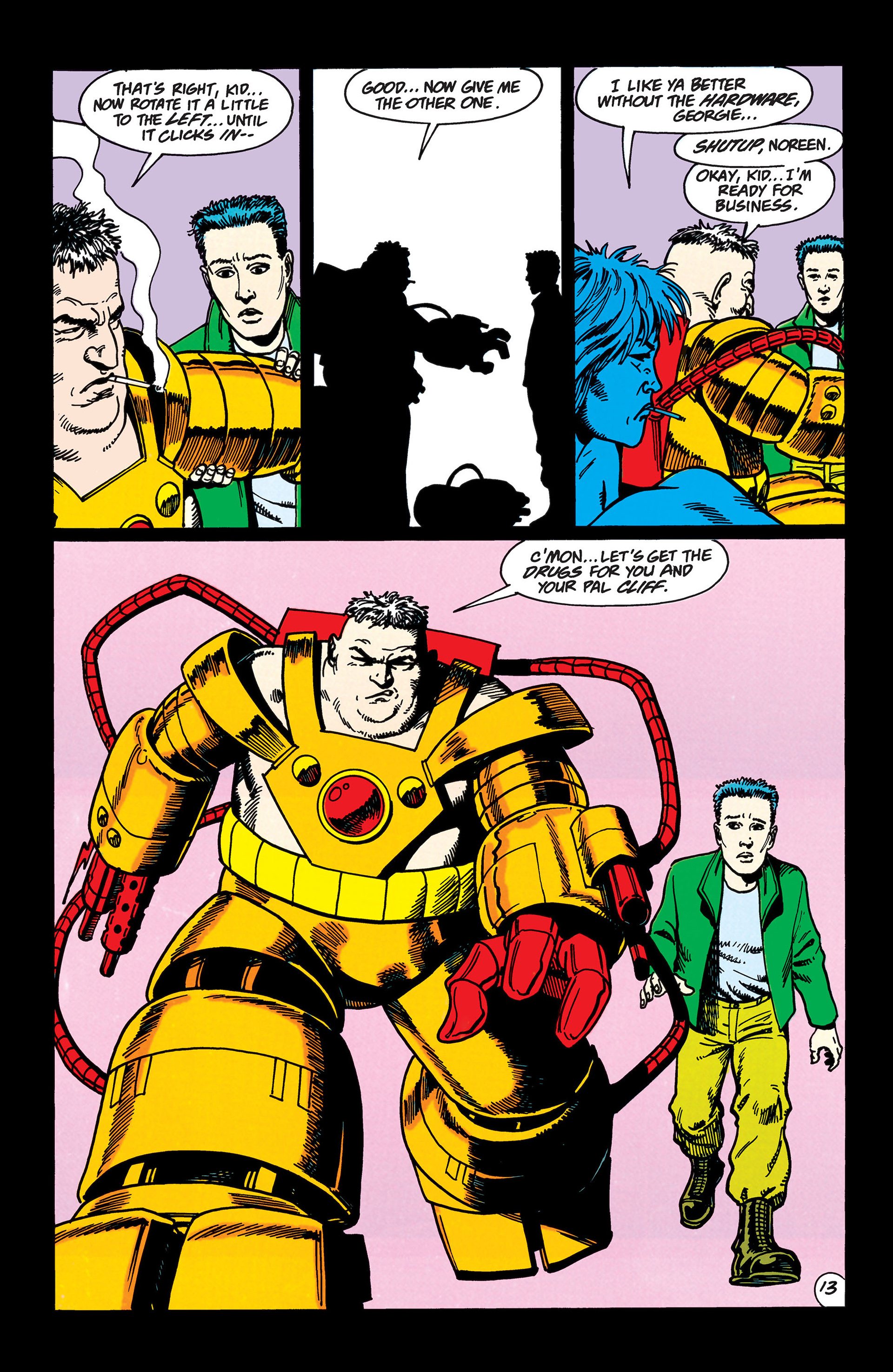 Read online Animal Man (1988) comic -  Issue #45 - 14