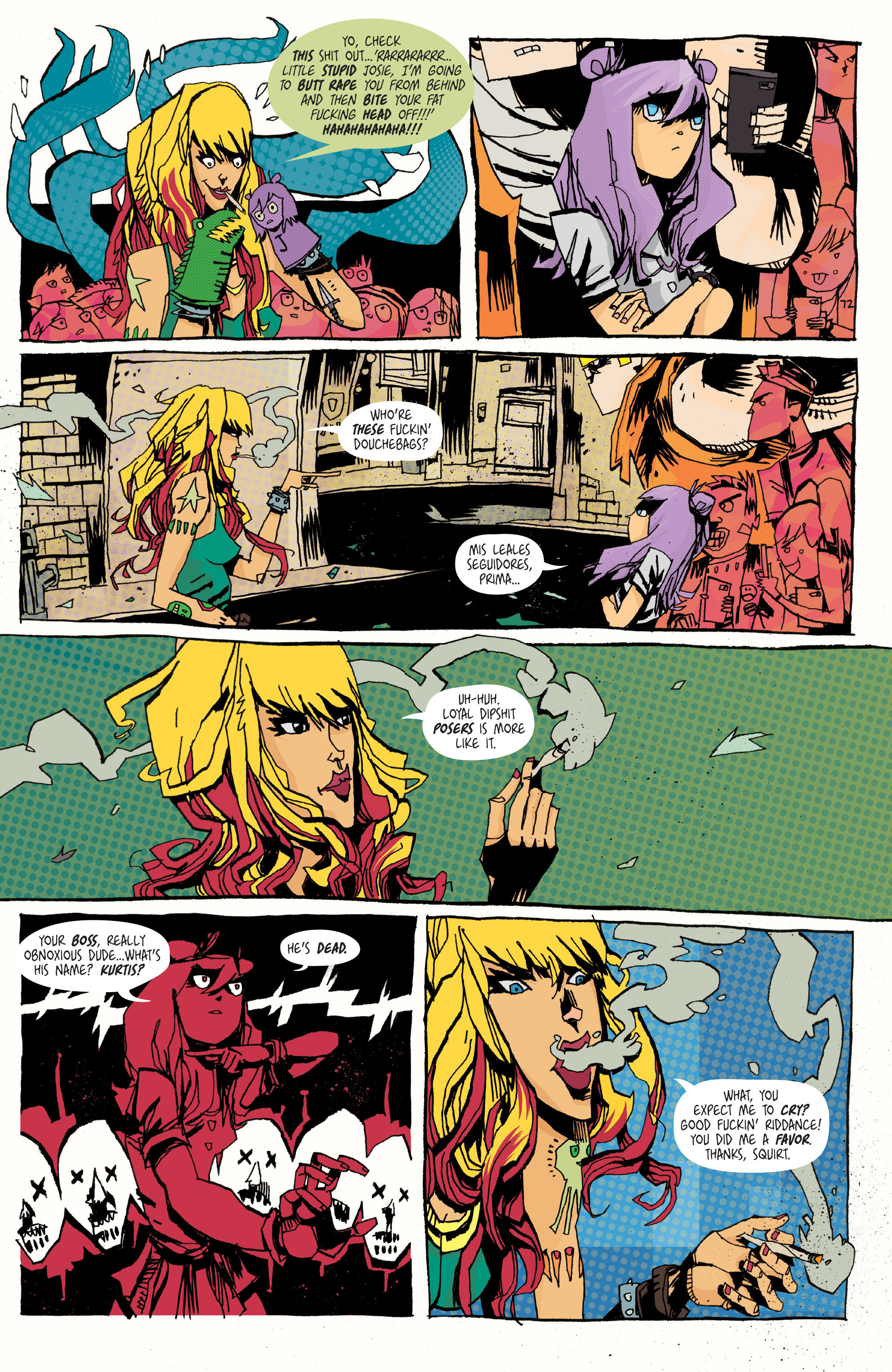 Read online Grrl Scouts: Magic Socks comic -  Issue #2 - 16