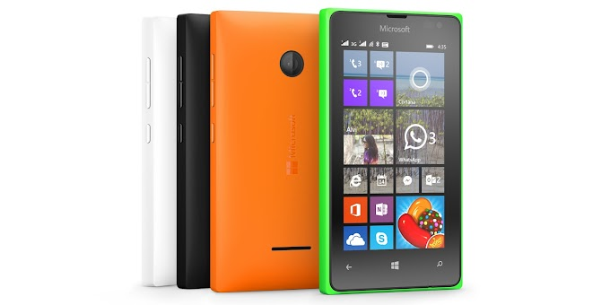 Microsoft Lumia 435 officially announced