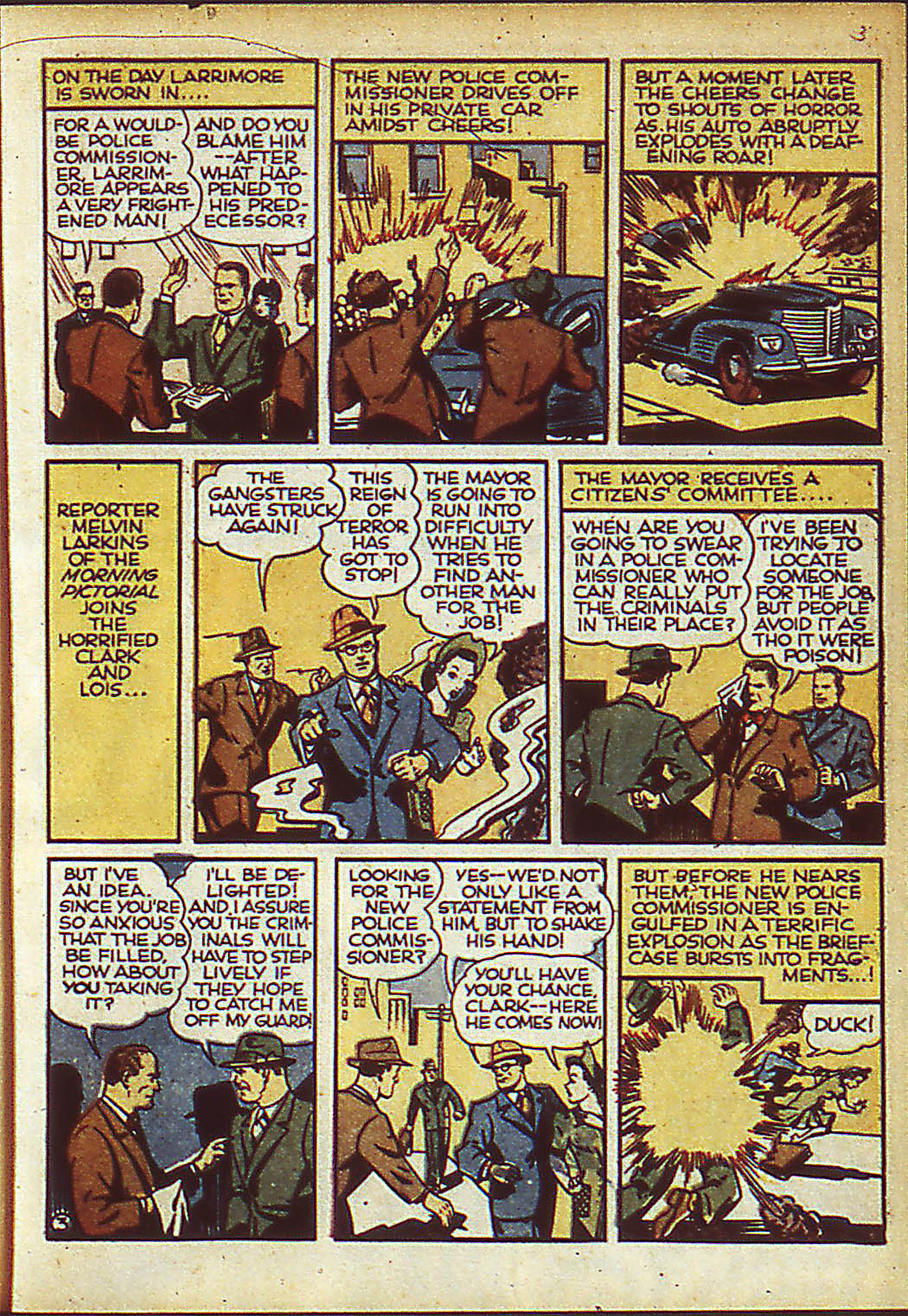 Read online Action Comics (1938) comic -  Issue #37 - 5