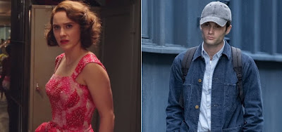 Rachel Brosnahan na 3ª temporada de The Marvelous Mrs. Maisel e Penn Badgley na 2ª temporada de You