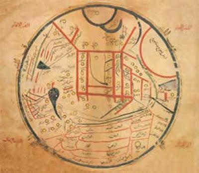 Divan-ı Lügatit Türk'teki japonya haritası