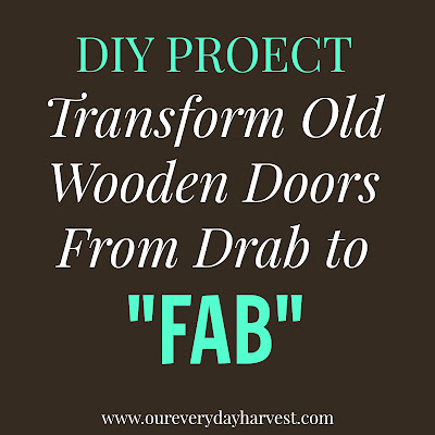 Updating Old Wooden Doors