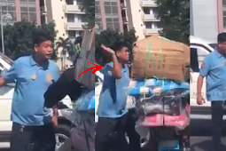 VIRAL Video of a Policeman Who Slaps Motorist On The Street