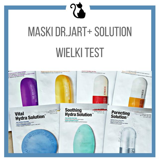 Wielki test wszystkich masek Dr.Jart+ z serii Solution