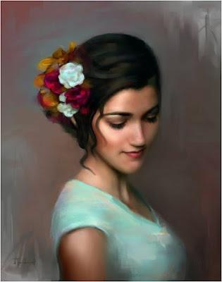 Yağlı Boya Portre Resim