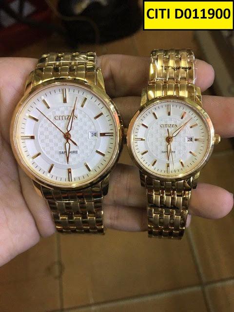 Đồng hồ cặp đôi Citi Đ011900
