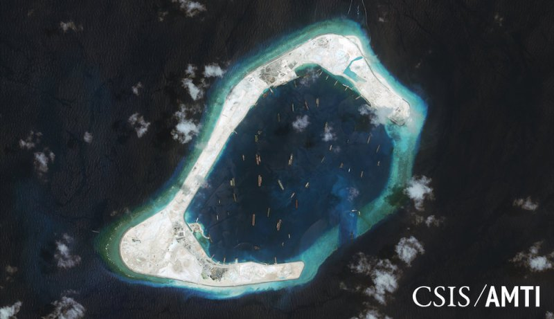 China Begins Operation of Lighthouse on Artificial Island in South China Sea