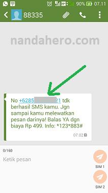 cara cek nomor indosat lewat sms