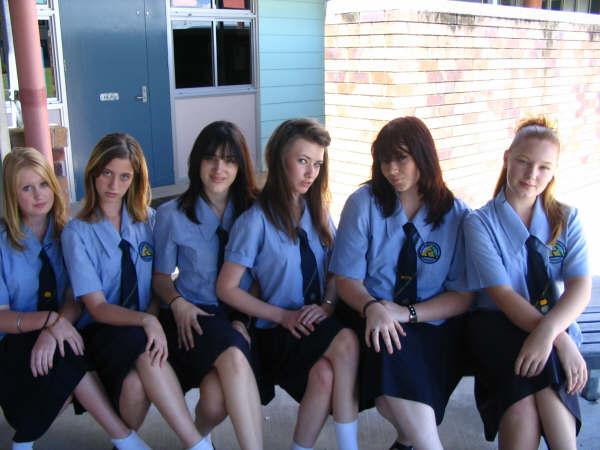 School uniform in america