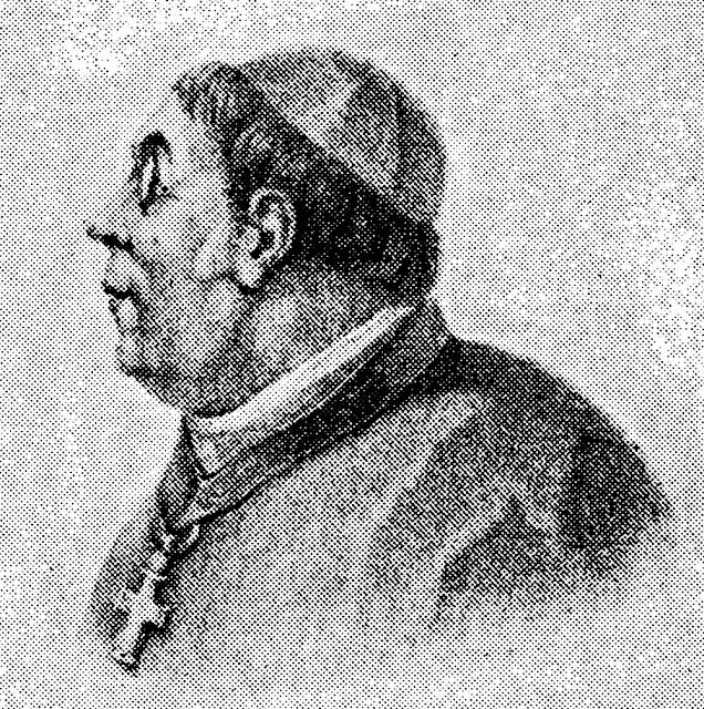 Bispo D. José Caetano da Silva Coutinho, por Jean-Baptiste Debret [in Viagem pitoresca e histórica ao Brasil, p.257].