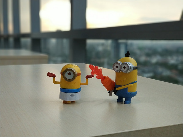 Hasil Foto Xiaomi Mi6 Dengan Efek Bokeh