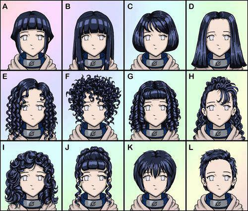Naruto's Cast Hair Style   Anime Jokes Collection