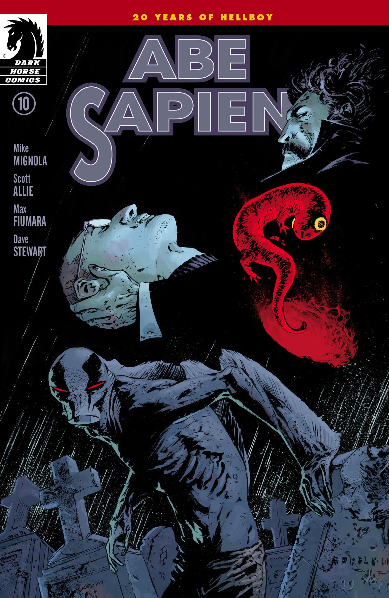 Read online Abe Sapien comic -  Issue #10 - 1