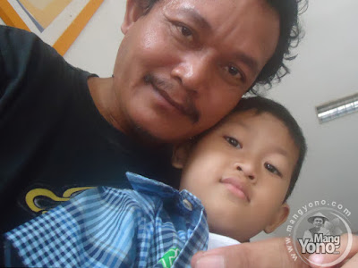 Anak Lengket dengan Ayahnya... Gigin dan admin