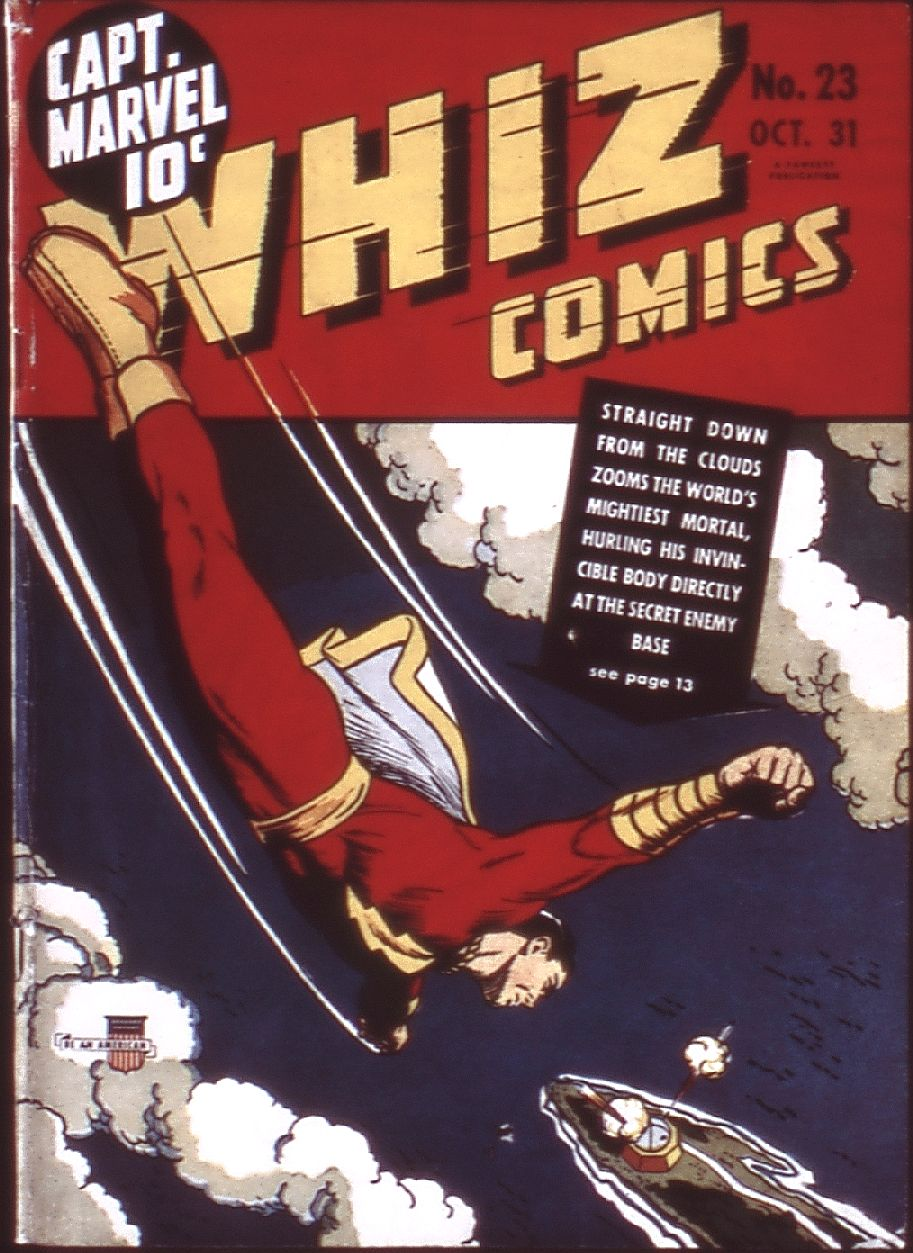 WHIZ Comics issue 23 - Page 1