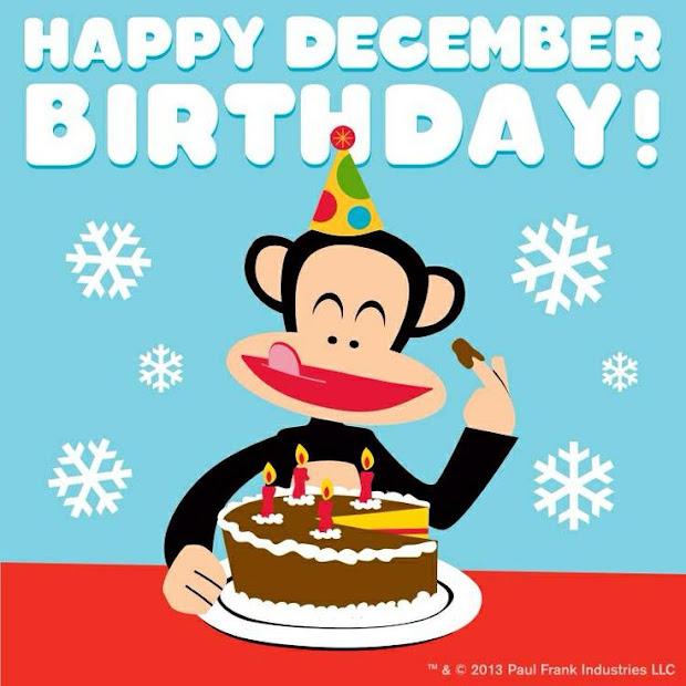 happy birthday of december