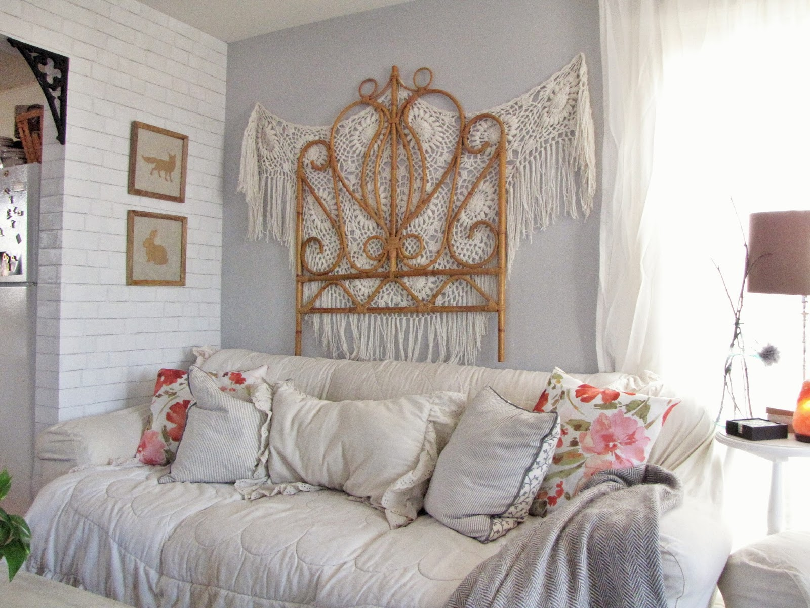 Light Pink Throw Pillows Target: SavannaBrooke.com: Ready For Spring- Living Room Tour And