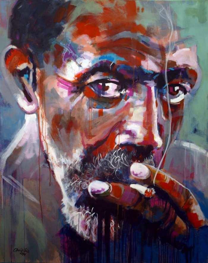 Способ общаться со зрителями. Juan Gonzalez Uribe