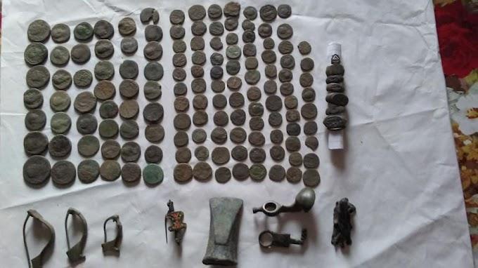 Un doljean a descoperit o comoară arheologică pe care a uitat să o anunțe autorităților