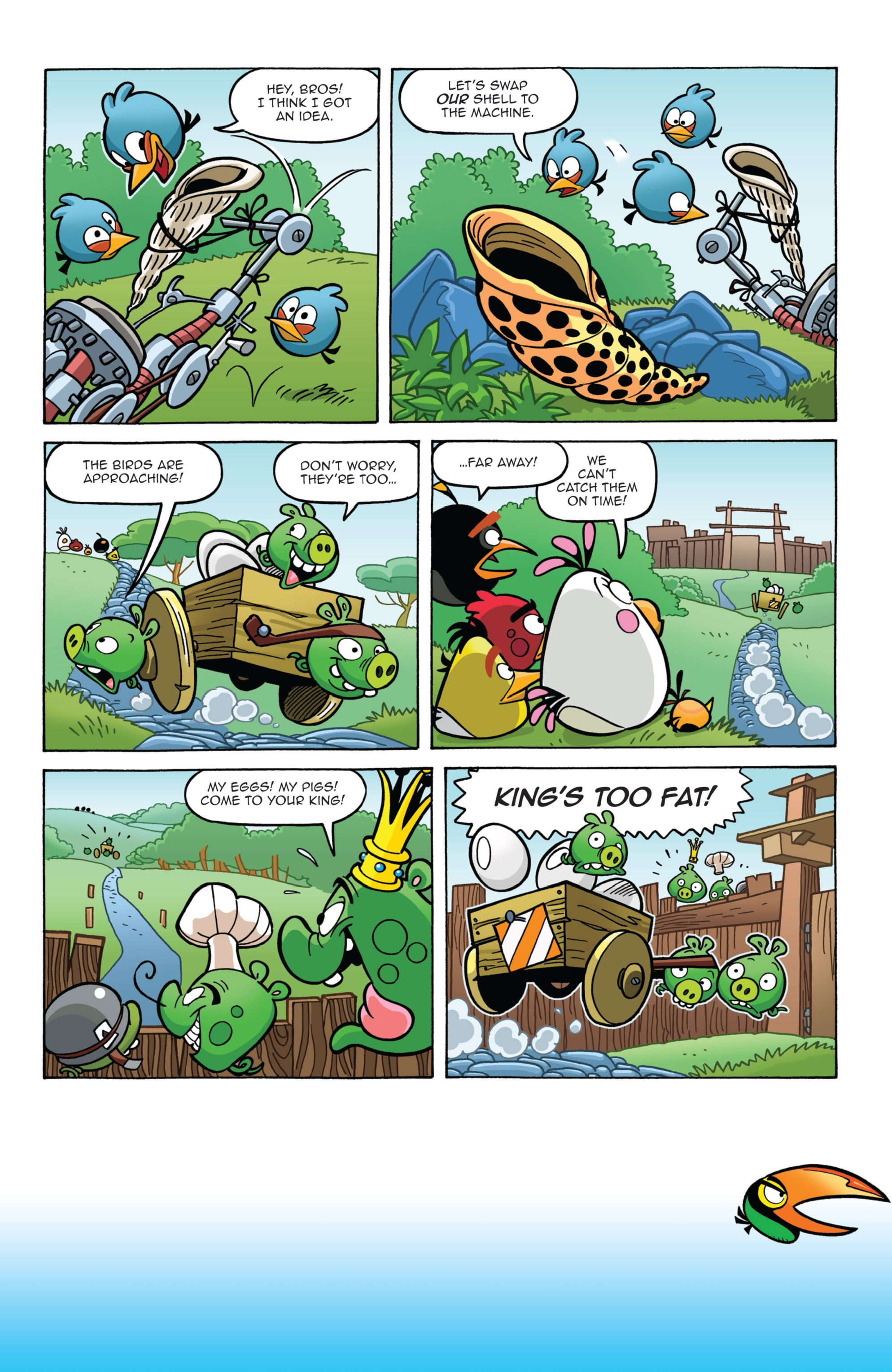 Read online Angry Birds Comics (2014) comic -  Issue #7 - 12