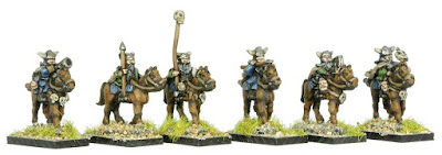 FNT403 Wasteland Barbarian Mounted Raiders with Hand