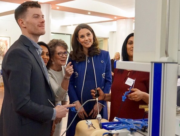 The Duchess of Cambridge visited Royal College of Obstetricians and Gynaecologists