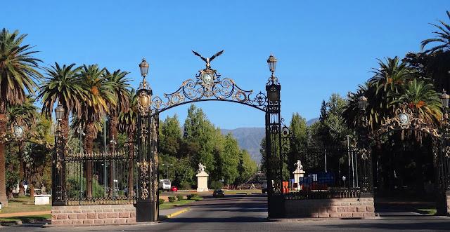 Parque General San Martín em Mendoza, Argentina