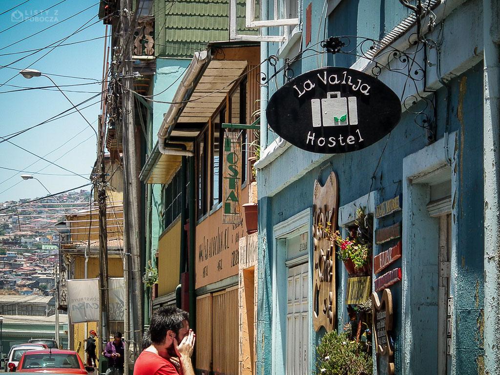 La Valija Hostel w Valparaíso w Chile