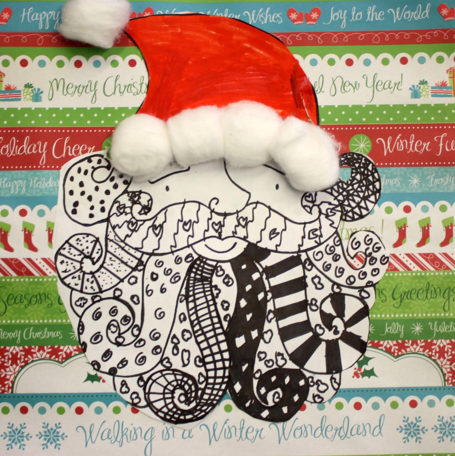 Artisan Des Arts: Easy Santas
