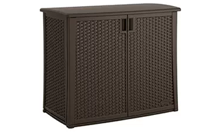 Suncast Elements Outdoor 40-Inch Wide Cabinet, Suncast Storage Boxes, Suncast Vertical Deck Boxes, Suncast Elements, Suncast Storage Cube, Suncast Patio Storage Box, Suncast Wicker Deck Box, Suncast Deck Box with Seat, Suncast,