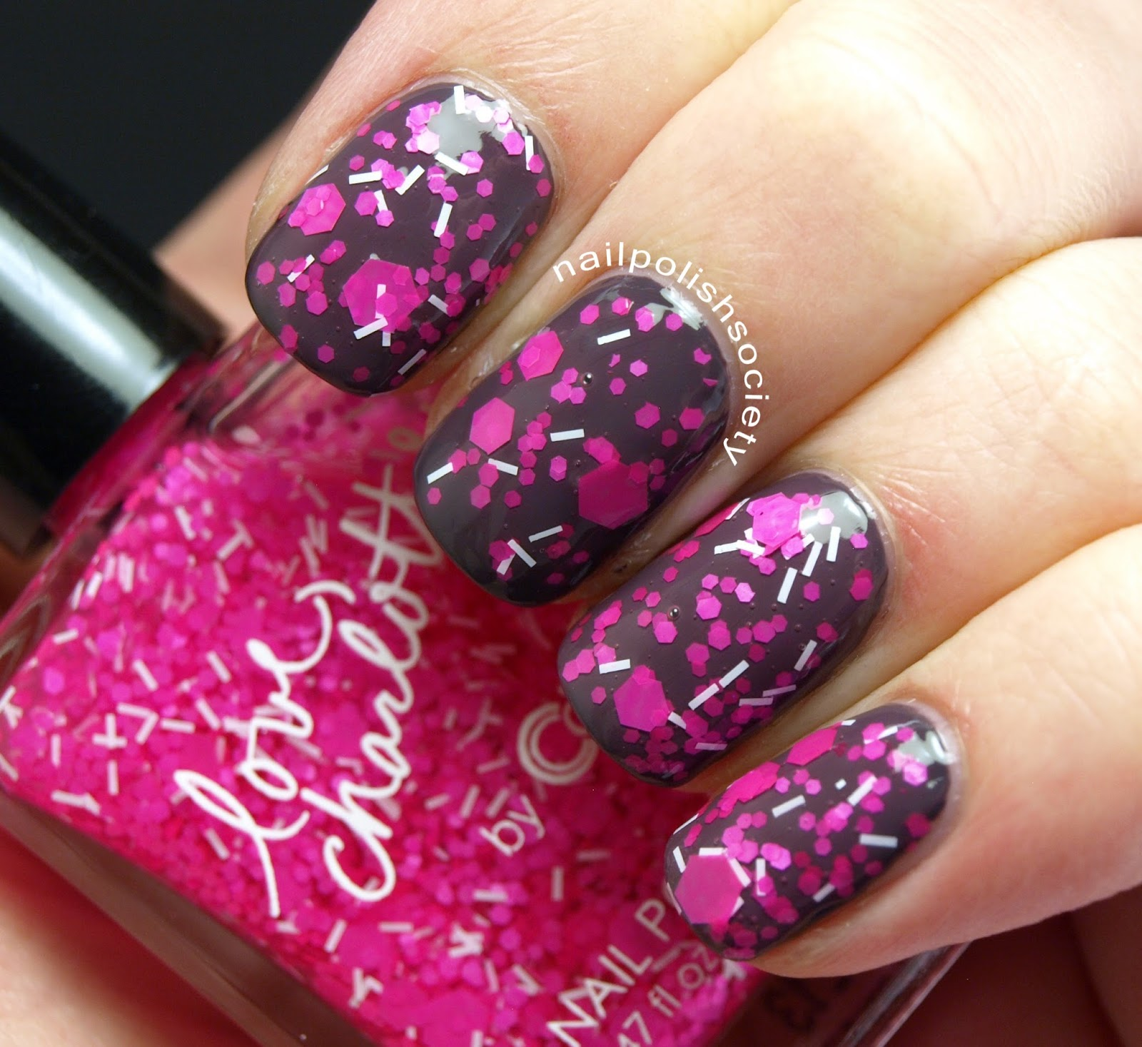 Nail Polish Society Love Charlotte Xo By Color Club From Charlotte Russe Swatches And Review