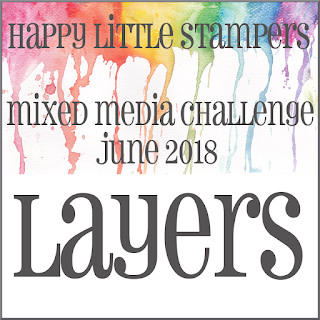HLS June Mixed Media Challenge