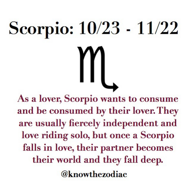 Scorpio As A Lover #009