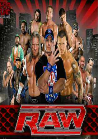 WWE Monday Night Raw HDTV 500Mb 480p 08 January 2018